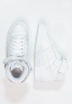 new product a99b5 f7e40 ADIDAS FORUM MID white Shoe Game, Adidas Originals, Kicks, Sneaker, Sneakers ,