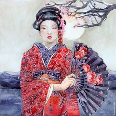 __comission__red_kimono___by_losenko-d4zps9p