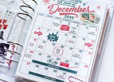 Marie Lottermoser December Daily 2015.  December calendar (swoon!)
