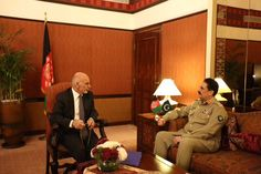 COAS's meeting with Afghan President very positive, for regional security&people of both Pakistan & Afghanistan
