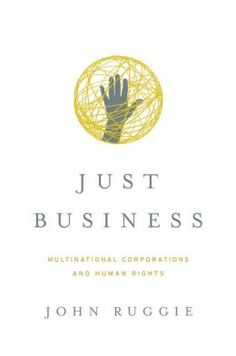 Good source for the freshman composition class' problem-solution paper. Just Business : Multinational Corporations and Human Rights / John Gerard Ruggie. Toledo campus. Call number: HF 5387 .R83 2013.