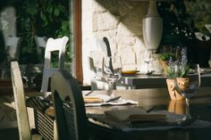 Table, Chairs, Cafe, Furniture, Glasses, Restaurant