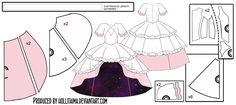 Godoka - Puella Magi Pattern draft by Hollitaima on DeviantArt