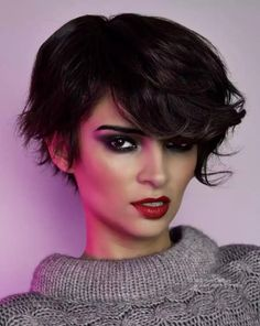 Hairstyles collection with versatile and low maintenance short haircuts, glamour up-styles and long cascading curls. A fit for every situation. Low Maintenance Short Haircut, Low Maintenance Hair, Up Styles, Short Hair Styles, Modern Short Hairstyles, Large Curls, 80s Hair, Long Locks, Short Hair Cuts For Women