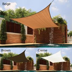 Bring a shady oasis to your patio or backyard area with this sun shade, the perfect accessory for backyard picnics on hot days. The sturdy, breathable fabric blocks up to 90-percent of UV rays to keep you and your family cool and safe.