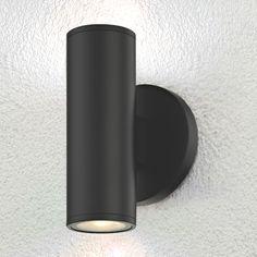 Modern Exterior Lighting, Modern Outdoor Wall Lighting, Black Outdoor Wall Lights, Exterior Wall Light, Garage Lighting, Backyard Lighting, Porch Lighting, Outdoor Porch Lights, Outdoor Flood Lights