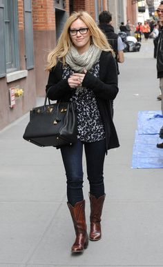 Hillary Duff - she's been my idol since I can remember! Love her style