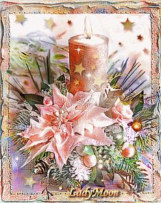 Christmas And New Year, Christmas Holidays, Merry Christmas, Beau Gif, 1 Advent, Christmas Blessings, Gifs, Burning Candle, Candlesticks