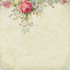 Красивая бумага-2. Винтажный фон с розами. Обсуждение на LiveInternet - Российский Сервис Онлайн-Дневников
