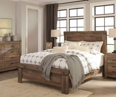Signature Design by Ashley Trinell Queen Bedroom Collection at Big Lots.