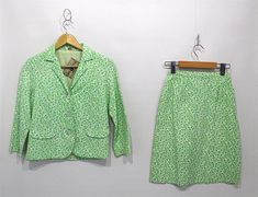 Vintage Women's Clothing 1960s 2 Piece Set Matching