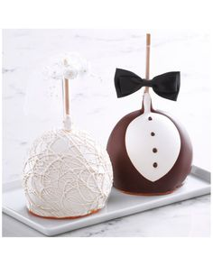 Mrs. Prindables Bride and Groom Jumbo Caramel Apple Gift Set is on Rue. Shop it now.