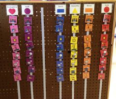 Visual schedule in the classroom