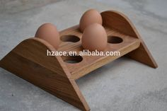 Wooden Egg Holder Oak Eggs Tray, View wooden egg tray, ACE Product ...