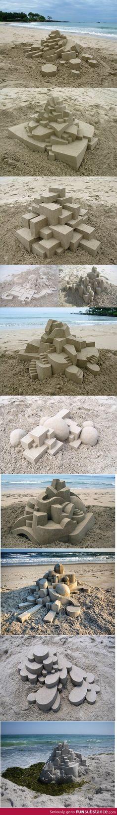 Calvin Seibert's Sand Castles