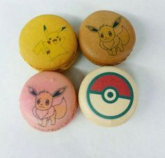 Happy #humpday !! We have these awesome #pokemon macarons available NOW at our…