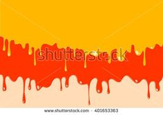 Paint colorful dripping background, vector illustration - stock vector
