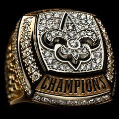 Saints Super Bowl XLIV Ring