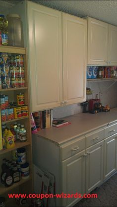 Organizing your stockpile when you have limited space. #organization #stockpileorganization #pinterest