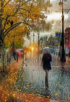 rainy day .....Eduard Gordeev