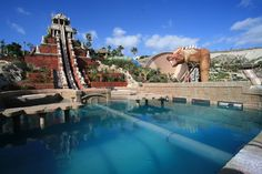 Siam park, Tenerife, Spain.  I have yet to go to this park, but I am inspired by everything I have seen about it.