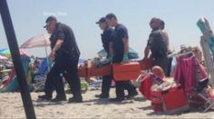 [Mysterious] Explosion Injures Woman at Rhode Island Beach