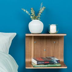 Made by Bent Knast noyer Floating Nightstand, Furniture, Home Decor, Drown, Night Stand, Floating Headboard, Interior Design, Home Interior Design, Arredamento