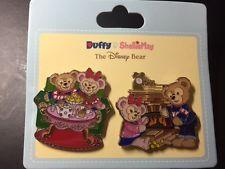 Hkdl Hong Kong Disney Disneyland Trading Pin Christmas New Duffy Shelliemay Set