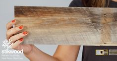 Reclaimed Weathered Wood Gray – Stikwood