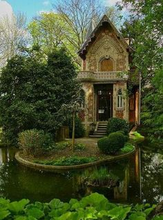 German cottage in a forest. I wish I knew more.
