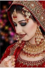 Pakistani And Indian Bridal Dulhan Makeup HD Wallpapers
