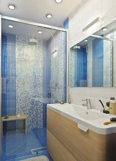 70+ Amazing Bathroom in Blue Remodel Inspirations