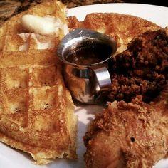 Fried Chicken and Waffles @ Brown Sugar Kitchen