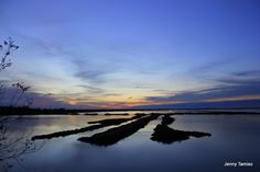 Sunset Delta del Po Italy