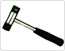 Soft Faced Mallet Hammer Plastic Face & Rubber Grip Handle