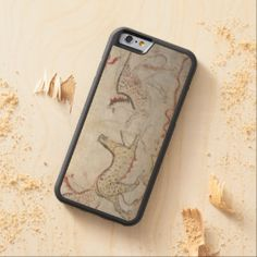 The Griffin Creature Carved® Maple iPhone 6 Bumper. How to DIY iPhone 6 Case http://www.zazzle.com/cuteiphone6cases/iphone+6+cases?dp=252480905934073059&ps=120&cg=196639667158713580&rf=238478323816001889 #diy #iphone6 #case #photo #custom #customizable #option #creat #design #