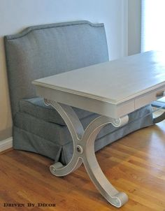 Annie Sloan Chalk Paint Newbie Tips - Driven by Decor. Great tutorial on painting furniture with chalk paint