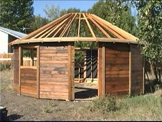 Please note, the interiors that you see here are being created by the owners of these fantastic homes. To be clear, Smiling Woods Yurts supplies the exterior of the main yurt structure which includes walls (with siding, windows and doors) Tiny House Blog, Small Tiny House, Tiny House Cabin, Tiny House Design, Yurt Tent, Yurt Home, Earth Bag Homes, Yurt Living, Silo House