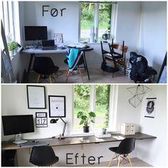 Jeg får ofte spørgsmål til mit DIY skrivebord på kontoret. Derfor synes jeg at det vil være en god ide at samle nogle af spørgsmålene i indlægget her. Jeg elsker at I stiller spørgsmål og efterlader en kommentar her på bloggen, så bliv endelig bare ved med det. Men jeg indrømmer blankt ....