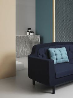 Normann Copenhagen Onkel Sofa, dunkelblau #Couch #Blau #Navy #Midnight #Wohnzimmer #Möbel #Einrichtung #Wohnen #Galaxus