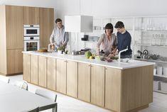 LILLTRÄSK werkblad   IKEA IKEAnl IKEAnederland keuken METOD serie koken eten diner interieur wooninterieur inspiratie wooninspiratie lades laden EKESTAD deuren ladefronten hout aanrecht