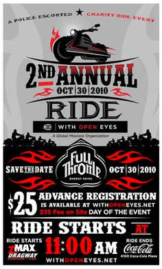 motorcycle ride flyer - Google Search