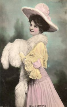 Billie Burke - The good Witch of the North!- Very entertaining actress. Vintage Photos Women, Vintage Pictures, Vintage Photographs, Vintage Images, Vintage Ladies, Edwardian Era, Victorian, Glenda The Good Witch, Billie Burke