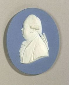 Wedgwood Solid Blue Jasper Portrait Medallion of Edward Gibbon | Sale Number 2222, Lot Number 225 | Skinner Auctioneers