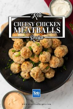 Chicken Meatball Recipes, Keto Chicken, Chicken Soup, Keto Diet For Beginners, Recipes For Beginners, Low Carb Keto, Low Carb Recipes, Cheese Stuffed Meatballs, Ground Turkey Recipes