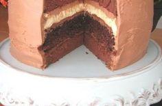 Double Chocolate Cheesecake Layered Cake