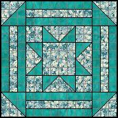 Ribbon Squares 14 patch