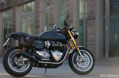 Thruxton R Triumph Cafe Racer, Motorcycle, Vehicles, Biking, Motorcycles, Vehicle, Engine, Choppers, Motorbikes