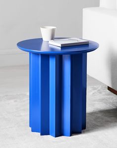 Just like its namesake, our Hera Side Table commands attention with its sophisticated form and bright color. This sculptural table is lightweight and easy to move, making it a versatile piece to rest a drink, book or even a potted plant. Furniture Ads, Design Furniture, Table Furniture, Cheap Furniture, Geometric Furniture, French Furniture, Furniture Online, Furniture Companies, Furniture Stores