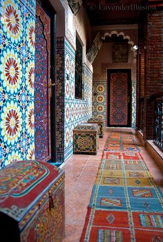 https://flic.kr/p/7MrkTc | Hotel Fantasia - Color Splash | Marrakesh, Morocco.